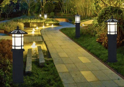Những mẫu đèn nấm sân vườn đựa ưu chuộng nhất năm 2021