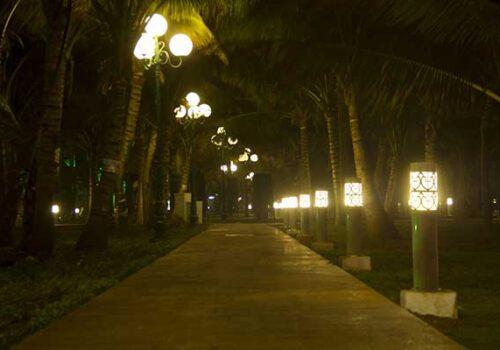 Lợi ích của việc trang trí đèn sân vườn