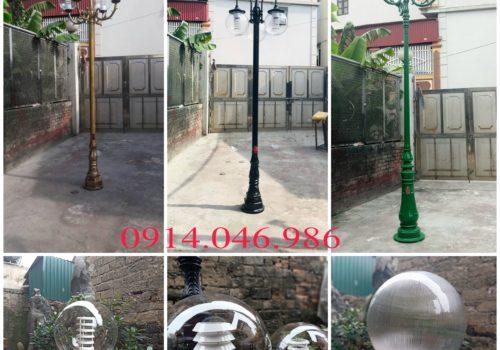 Cột đèn sân vườn uy tín tại Vĩnh Phúc