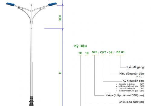 Phân loại và những yêu cầu kỹ thuật của cần đèn chiếu sáng mà bạn nên biết