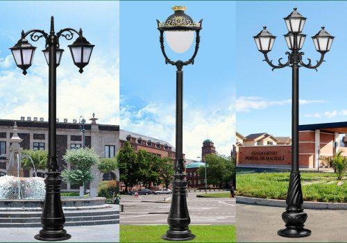 Tại sao nên sử dụng cột đèn trong chiếu sáng sân vườn